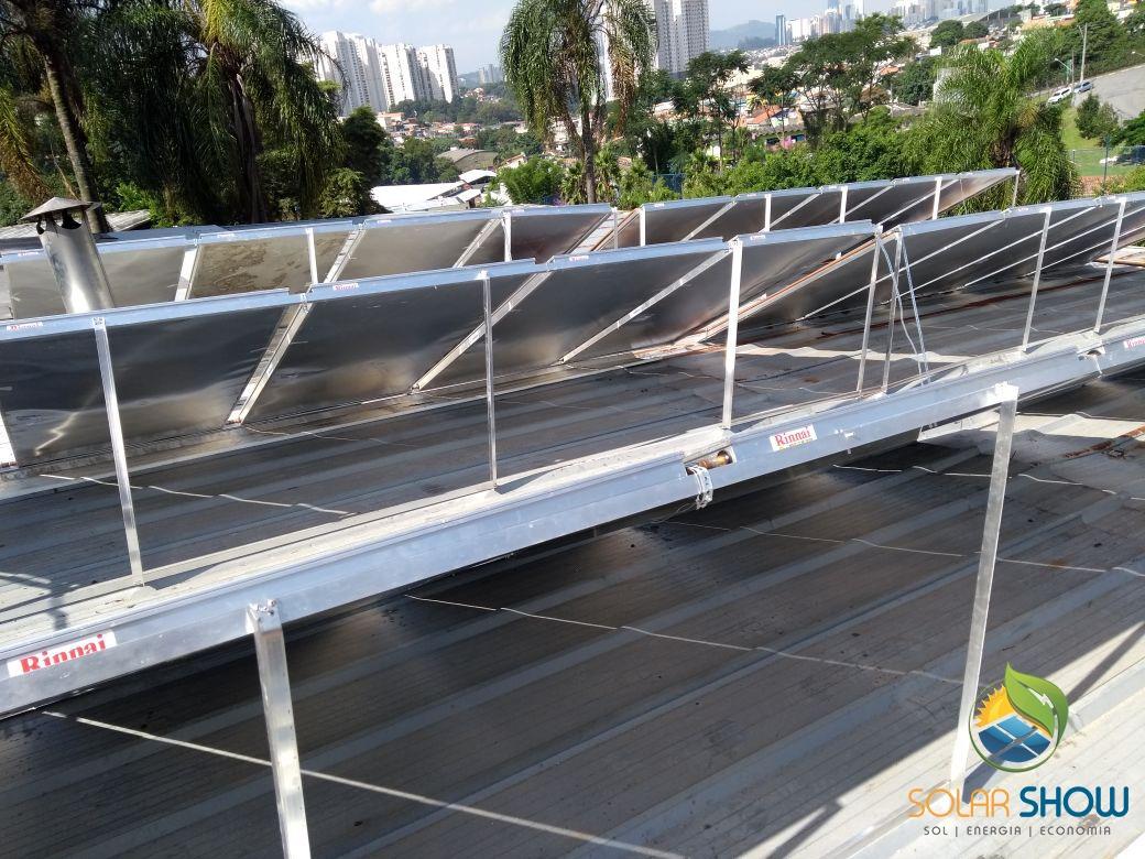 Motel Castelo Barueri – Sistema de Aquecimento Solar com apoio a Gás